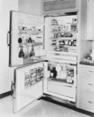 Refrigerator, 1961 — Stock Photo