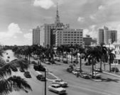 Miami, Florida, circa 1951 — Stock Photo