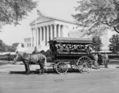 Grace james j., guía de turismo en washington desde 1897, circa 1942 — Foto de Stock