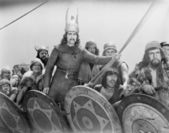 VIKING WARRIORS — Stock Photo