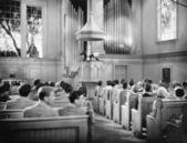CHURCH GOERS — Stock Photo