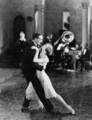 танцевальная команда — Стоковое фото