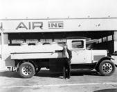 Flight fuel — Stock Photo