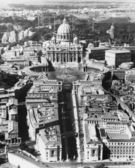 The Vatican as seen from above — Stock Photo