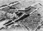 Vista aérea de parís francia — Foto de Stock