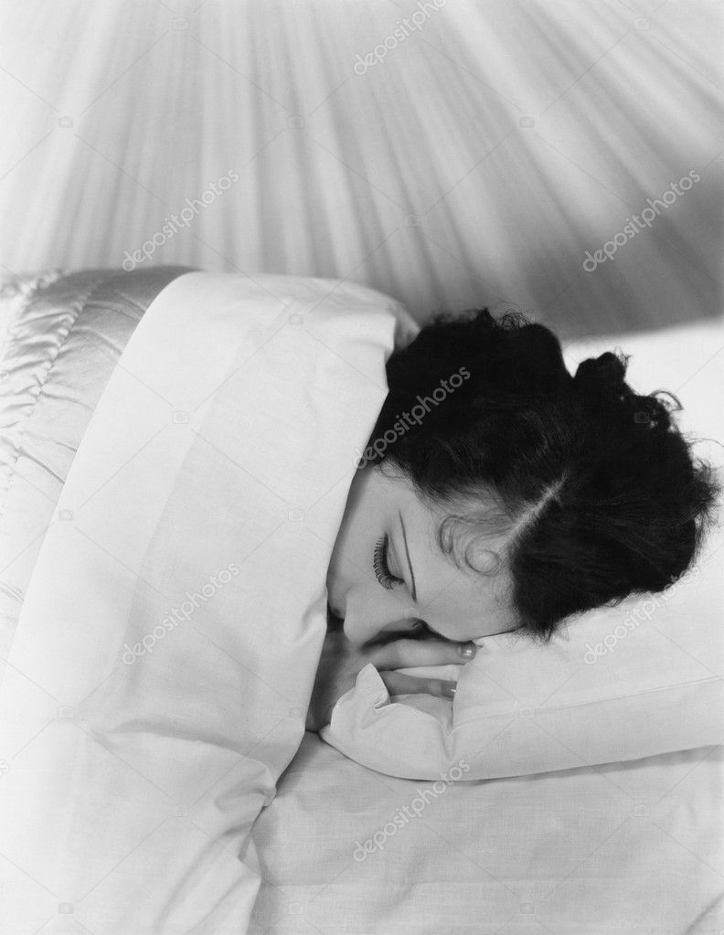 SLEEPING IN  Stock Photo #12284430