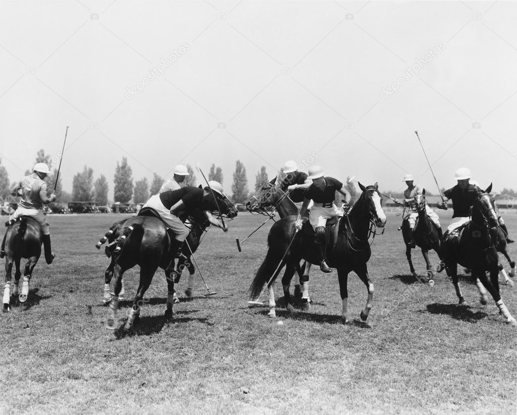 POLO MATCH — Foto Stock #12285549