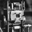 Closeup of film projector — Stock fotografie