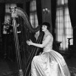 Foto Stock: Womplaying harp