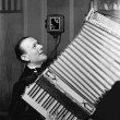 Stock Photo: Mplaying accordion