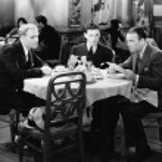 Businessmen meeting in restaurant — Stock Photo
