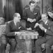 Four men playing cards — Stock Photo #12297999