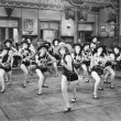 A group of women dancing — Stock Photo