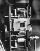 Closeup of film projector — Stock Photo