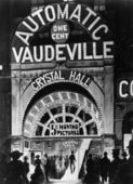 Poster of the automatic Vaudeville — Stock Photo