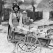 Delivering milk — Stock Photo #12301934