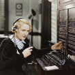 SWITCHBOARD — Stock Photo #12302451