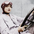 Stock Photo: Portrait of female driver