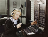 SWITCHBOARD — Stock Photo