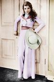 Glamourous kadın portresi — Stok fotoğraf