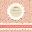 Color pink floral background vector — Vettoriali Stock