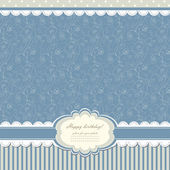 Baby vintage background vector — Stock Photo