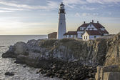 Portland Head ligh, lighthouse — Stock Photo