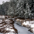 New Hampshire view White Mountains winter — Stock Photo