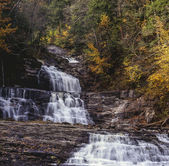 Kent falls waterfall — Stock Photo