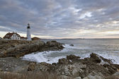 Portland Head Lighthouse — 图库照片