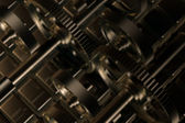 Cogs gears detail — Stock Photo