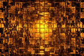 Abstract cubic space — Stock Photo