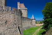 Carcassone castle — Stock Photo
