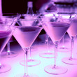 Welcome drink in night club - bar counter — Stock Photo #12205599
