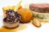 Haute cuisine çanak — Stok fotoğraf