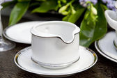 Dishware closeup — Stockfoto