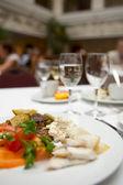 Busy restaurant — Stock Photo