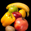 Arrangement of fresh fruits and vegetables — Stock Photo #12212143