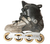 Run-down roller skate — Photo