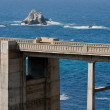 Stock Photo: Bixby Bridge Tower