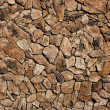 Stock Photo: Faux LavRock Siding