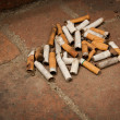 Cigarette Butts — Foto de Stock