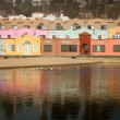 Colorful Beachfront Lodge — Lizenzfreies Foto