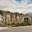Foto Stock: New Townhouses