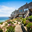 Stock Photo: Oceanfront Townhomes