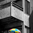 Colorful Umbrella — 图库照片