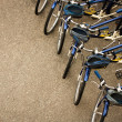Bicycles Parked in Row — Stock Photo #12305229