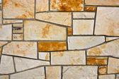 Stenplatta vägg — Stockfoto