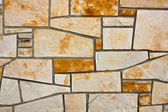 Flagstone Wall — Stock Photo