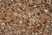 Faux lava rock gevelbekleding — Stockfoto